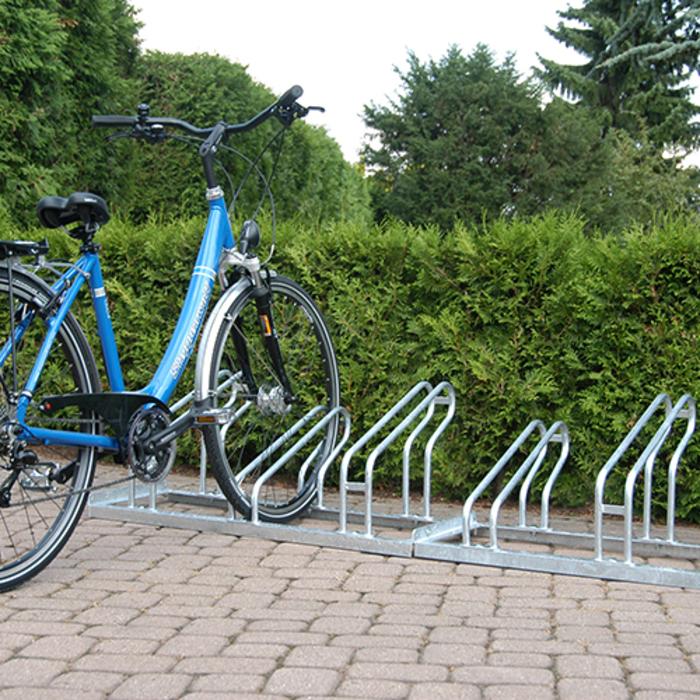 verschraubt POV® Fahrradständer TOP,1-seitige Radeinstellung